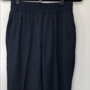 ATM dark navy jogger pants.
